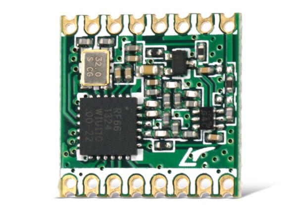Radio module HOPERF RFM66W, 868 MHz, TX/RX