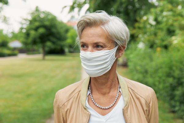 Mund- und Nasenmaske (nicht medizinisch)